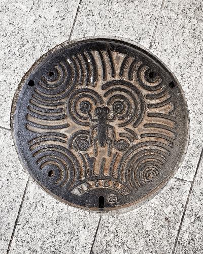 名古屋市上下水道マンホール